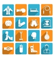 Set of boxing icons vector image