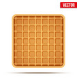 waffle symbol and icon vector image