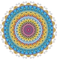 radial graphic patterns vector image