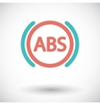 abs flat single color icon