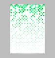 abstract diagonal square mosaic pattern brochure vector image vector image