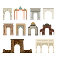 Arch set vector image vector image