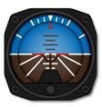 aviation airplane attitude indicator - artificial