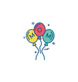 Balloons icon design