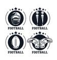 football championship icon vector image vector image