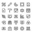 graphic designing icons pack