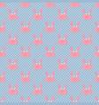 happy crabs pattern vector image vector image