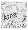 Invest in Technology Final Word Cloud Concept vector image vector image