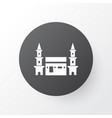 mecca icon symbol premium quality isolated hejaz vector image vector image