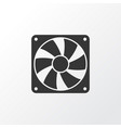 cooler icon symbol premium quality isolated fan vector image