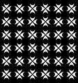gothic pattern geometric texture vector image vector image