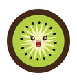 Kawaii kiwi slice