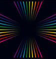 multicolored lines colorful background vector image vector image