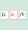 set sakura flowers backgrounds floral wedding vector image vector image