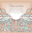 background for invitation or cards vector image vector image