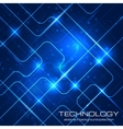 Bright technology background vector image vector image
