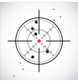 Crosshair shot vector image vector image