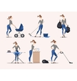 housework vector image vector image