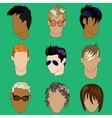 Mens Haircut vector image
