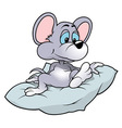 Mouse Sitting vector image vector image
