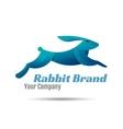 Rabbit Logo Template Design Creative vector image