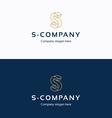S Company logo 02 vector image vector image