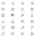 User Interface Icons 16 vector image vector image