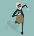 thief cartoon character vector image