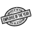 Employee Of The Year rubber stamp vector image vector image