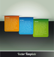 Tab option page template vector | Price: 1 Credit (USD $1)