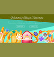 wedding rings gold and silver metal vector image