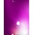 Purple shiny abstract background vector image