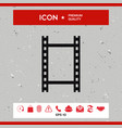 camera roll photographic film camera film icon vector image