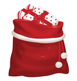 bag gifts vector image vector image