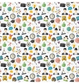 school seamless pattern vector image