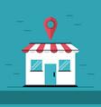 shop location online vector image vector image