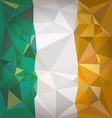 Stylized flag of Ireland vector image vector image