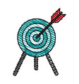 target shooting vector image