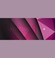 violet dark geometric triangle polygon background vector image