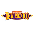 New Mexico The Land of Enchantment vector image