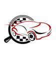 auto car solutions vector image vector image