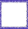 christmas minimalist frame vector image vector image