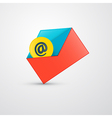 Envelope - E-mail Icon vector image vector image
