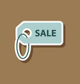 fashion patch sale sticker label vector image vector image