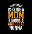 happiness is being a mom typographydesign
