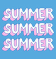 hello summer poster hello summer poster vector image