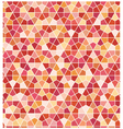 seamless geometric hexagon pattern vector image vector image