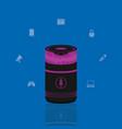 wireless speaker technology vector image vector image