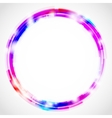 Circles background vector image