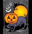 halloween night2 vector image
